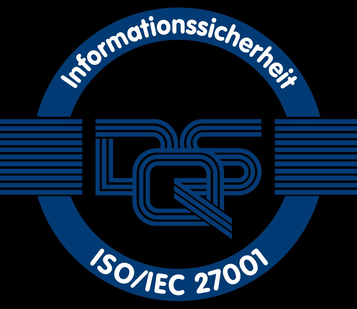 Logo ISO/IEC 27001 | EQS Group
