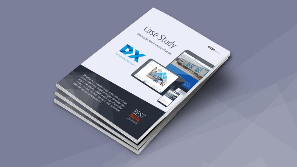 DX Group plc: New IR website in 8 weeks